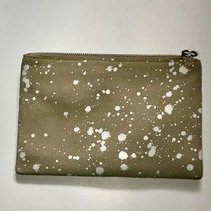 Madewell splatter pouch